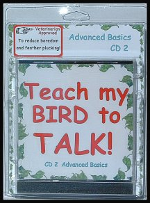 Learn how to teach birds to talk with a bird training mp3 download.