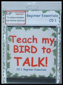 Teach a bird to talk with a bird training cd today!