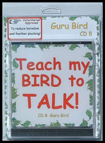 Learn how to teach a bird to speak with bird training mp3s.